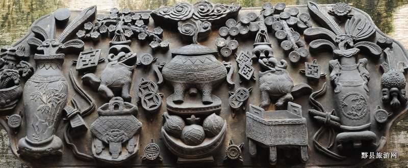 与徽州石雕,木雕,竹雕相并列,闻名于海内外.